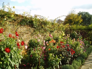 The walled garden at Polesden Lacey.