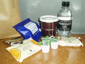 Tea and other free stuff from the Cross Country trains buffet car