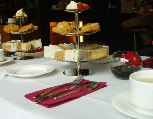Afternoon tea at the Leopold Hotel