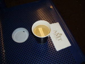 My cup of AMT Coffee tea