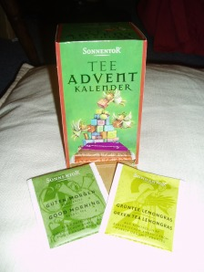An advent calendar with tea!