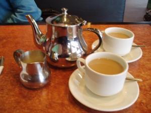 Tea at the Clock Restaurant