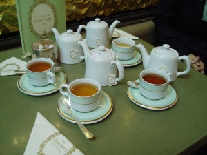 Tea at Laduree