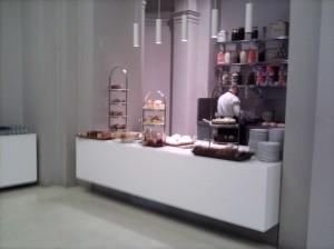 The V&A cake counter