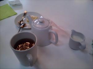 Tea at the V&A cafe