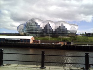 View of the Sage from across the river