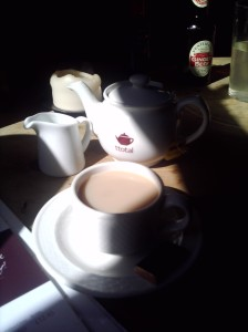 Tea-total tea at the Griffin