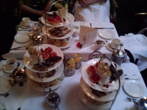 Cakes, scones, tea and Pimms sorbet galore at the Woodlands Park Hotel