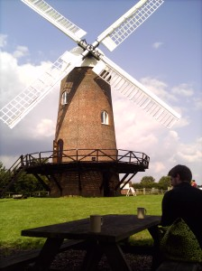 R and tea and the glorious Wilton Windmill