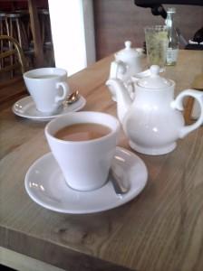 Tea at Bordeaux Quay