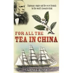 The cover of 'For all the tea in China'