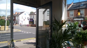 Door view at Siblings Home