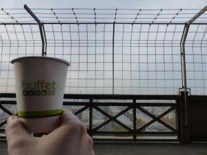 2015-10-21 Buffet Tour Eiffel tea and view