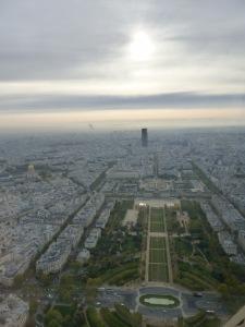 2015-10-21 Buffet Tour Eiffel view