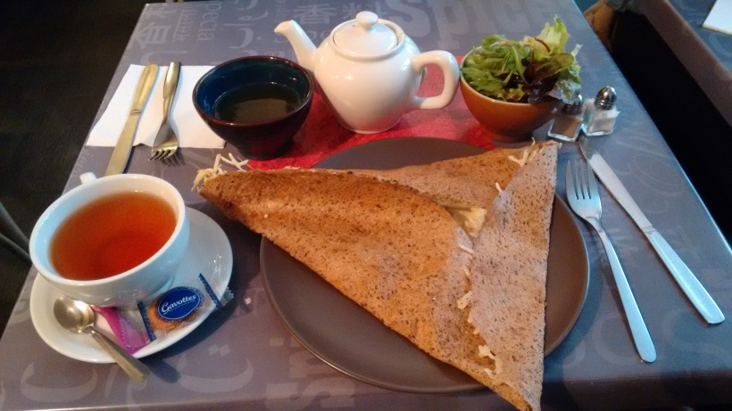 Little Breizh crepe and tea