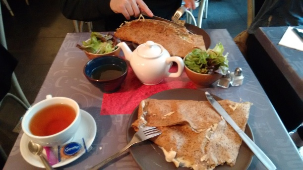 Crepes at Little Breizh